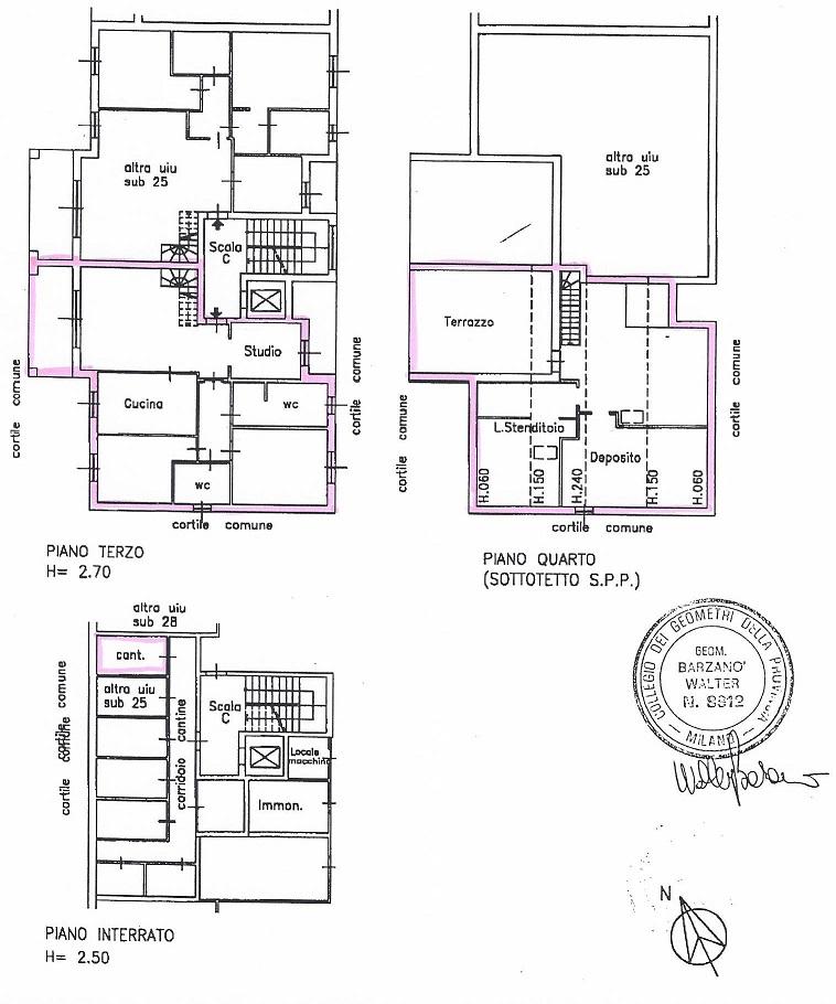 Monza MB, Viale Sicilia 33, 4 Bedrooms Bedrooms, ,2 BathroomsBathrooms,Appartamento,Affitto,MB,1113